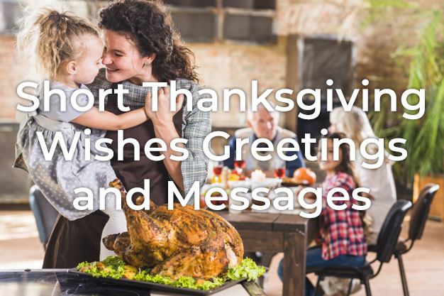 Short Thanksgiving Wishes