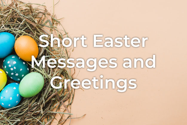 Short Easter Messages
