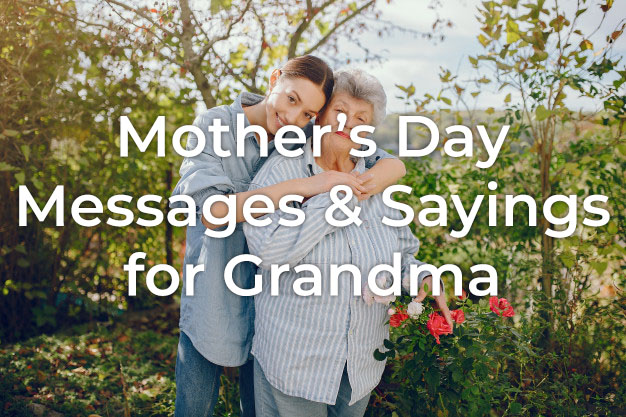 Mother's Day Messages for Grandma