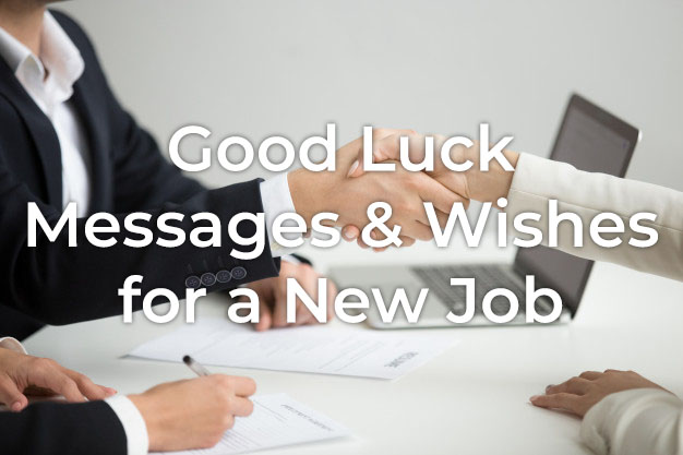 Good Luck Messages for New Job