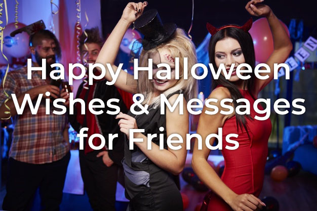 Halloween Wishes for Friends
