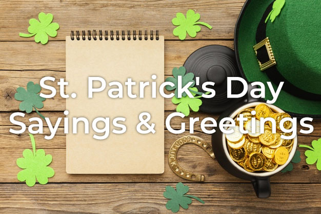 St. Patrick's Day Sayings