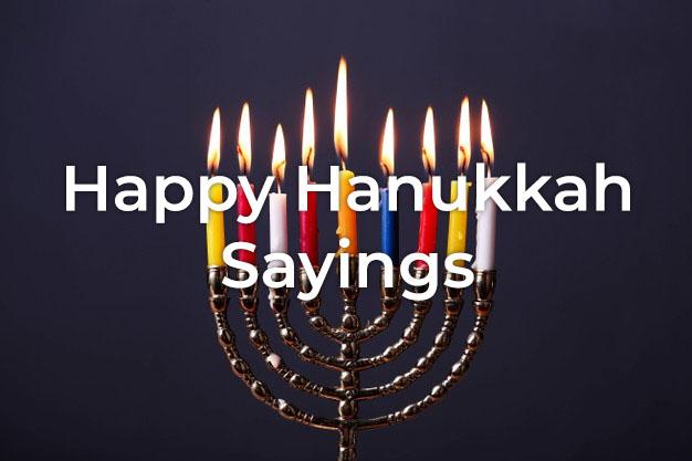 Hanukkah Sayings