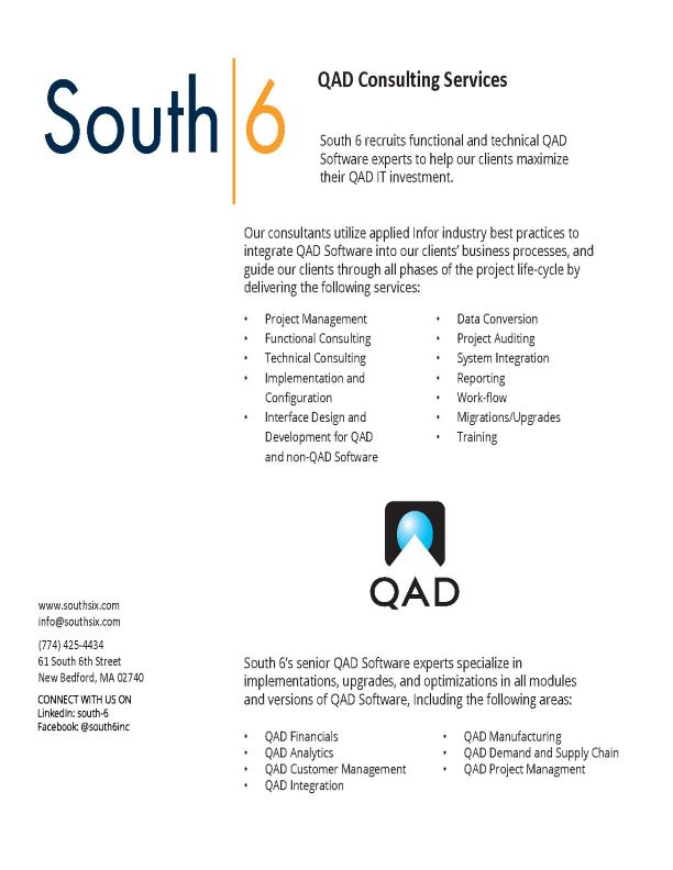 Image of QAD Consulting Service