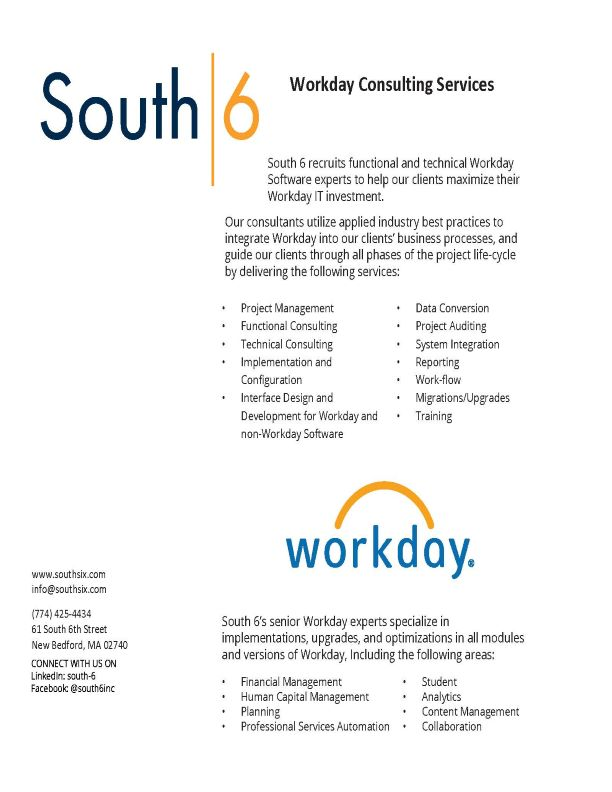 Cover of Workday Consulting Services PDF