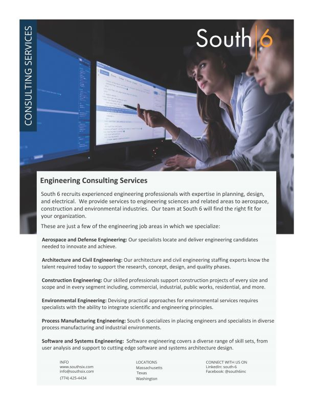 Cover of Engineering Consulting Services PDF