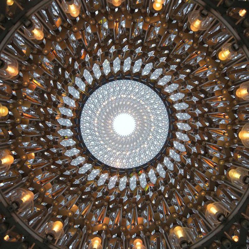 decorative, rotunda ceiling