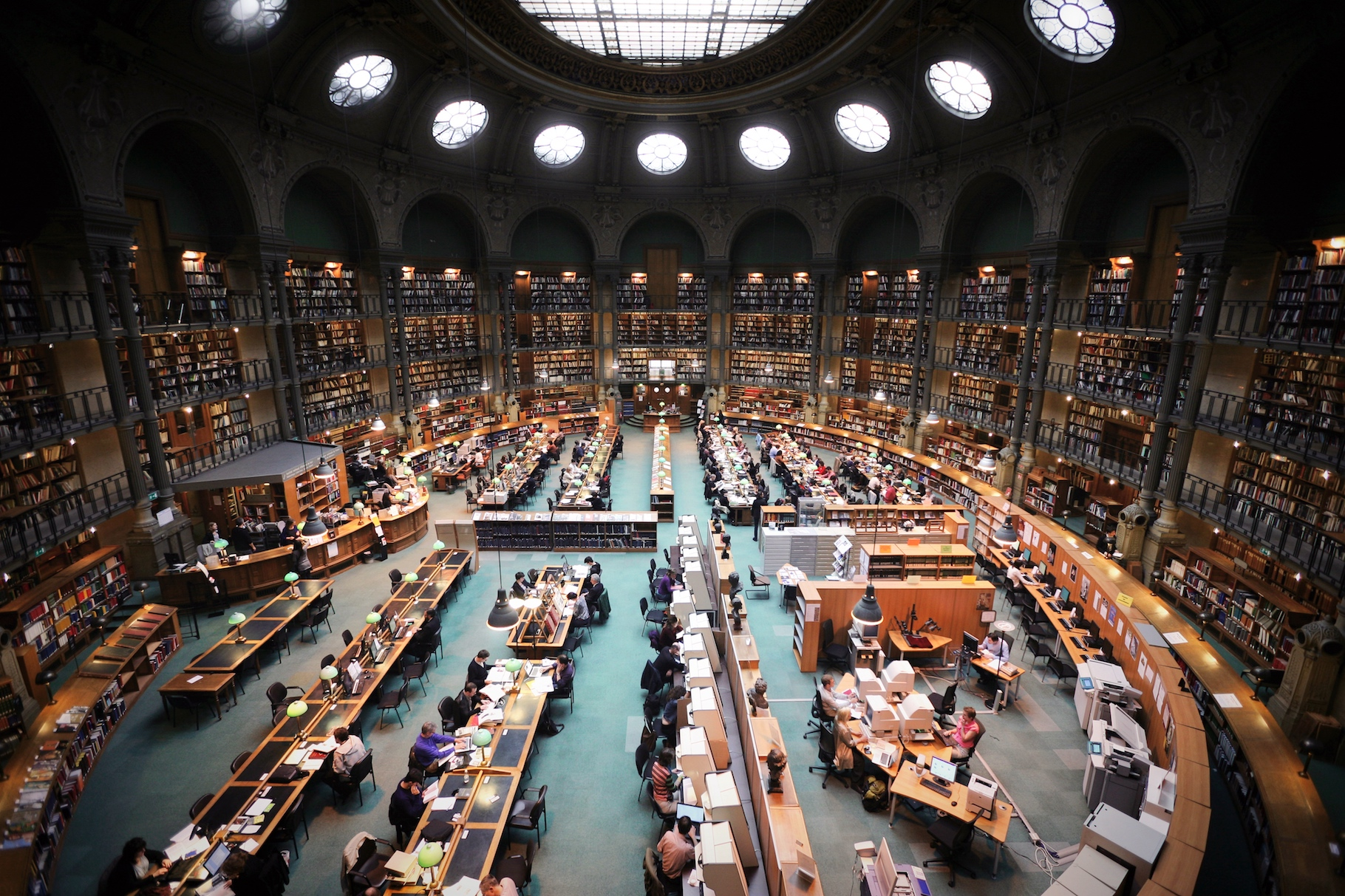 The national library of France