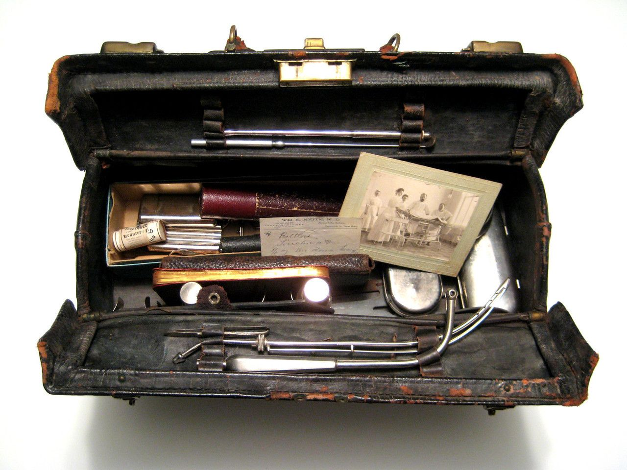Image of Open Medical Bag