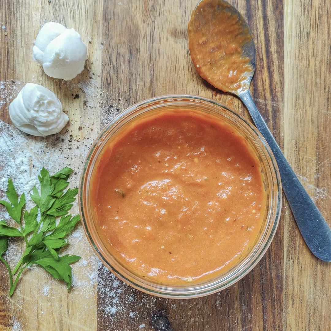 Mascarpone-Sauce