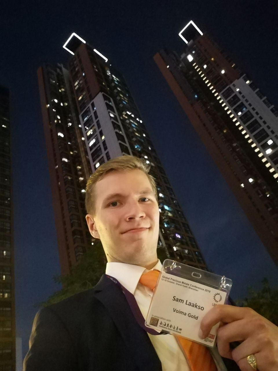 Myself in Shenzhen on the closing day of the event