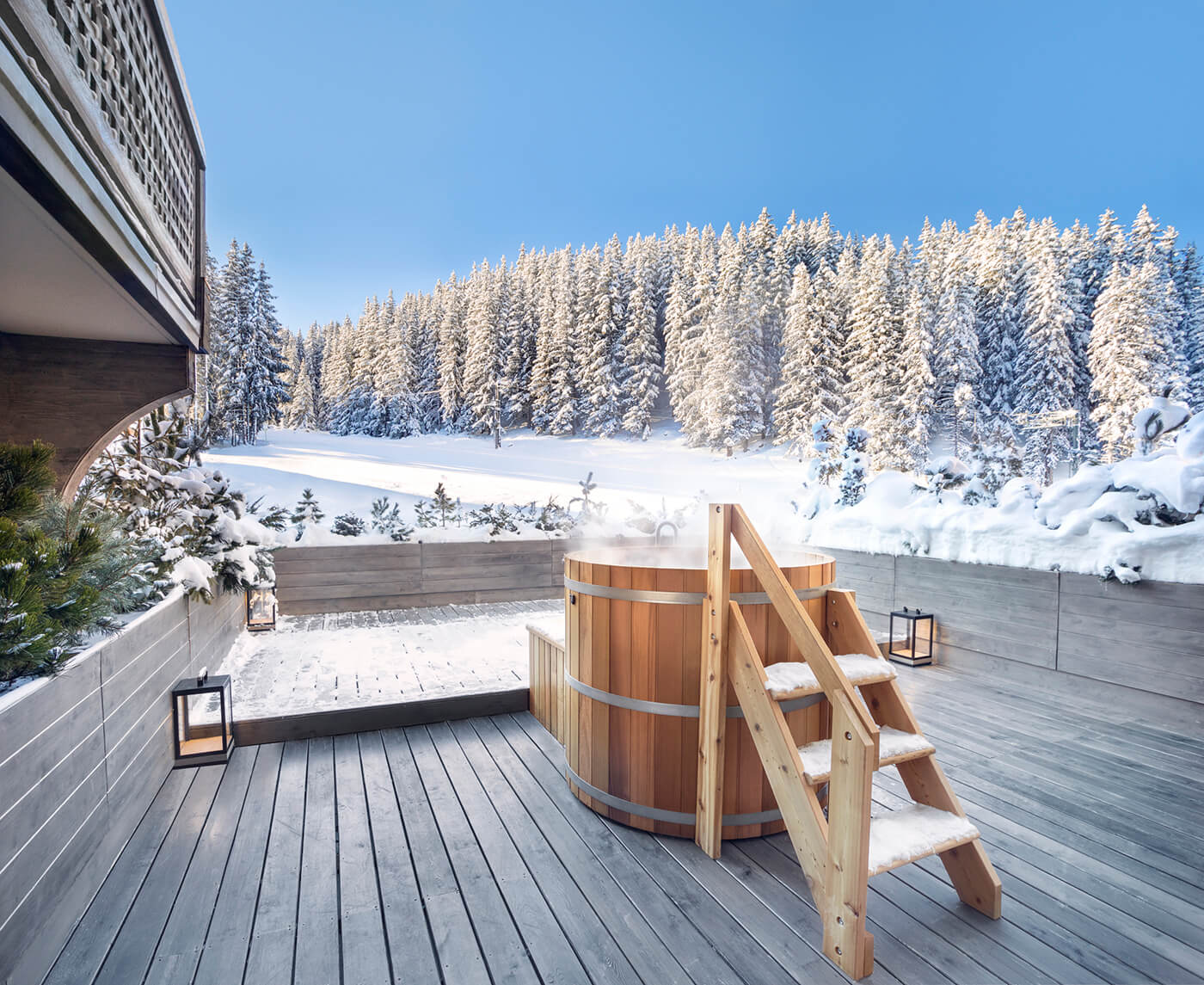 Suite Ski Piste with Hot Tub