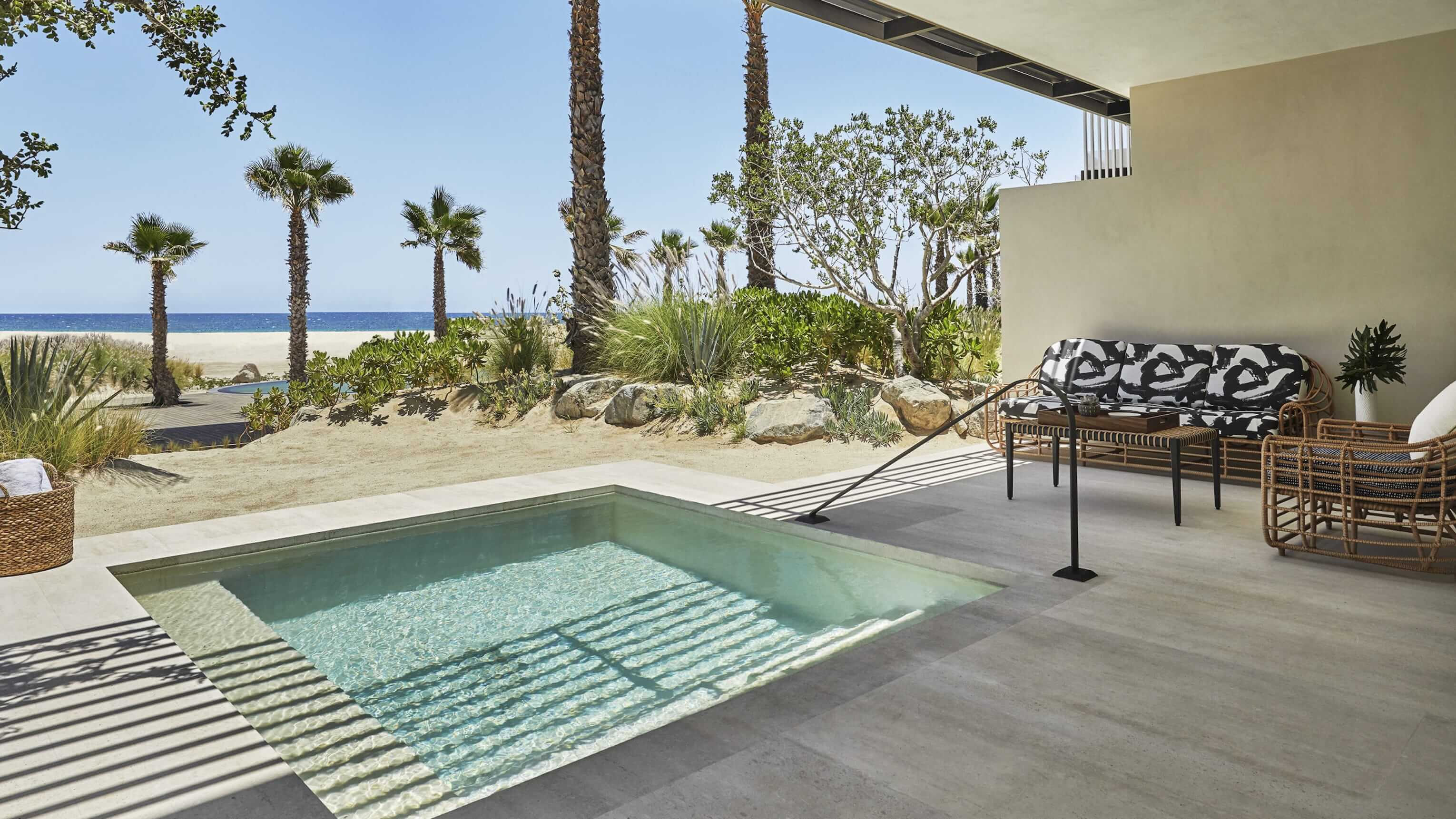 Ocean-view Room With Plunge Pool