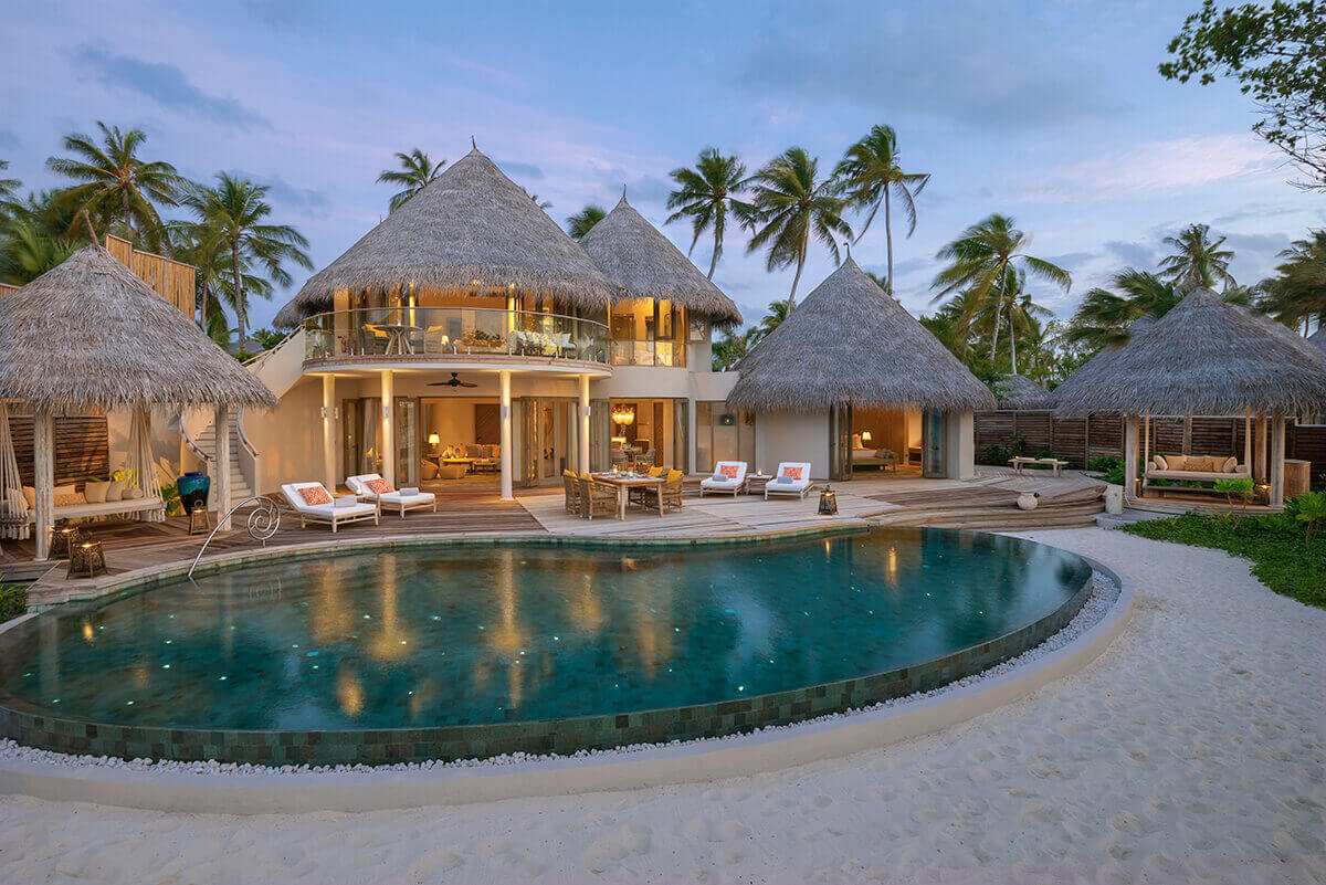 Two-bedroom Beach Residence with Private Pool