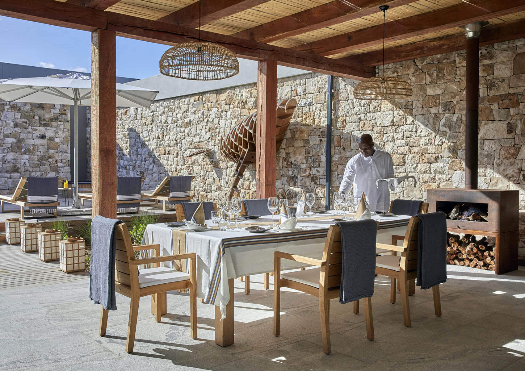 Morukuru Beach Lodge Dining