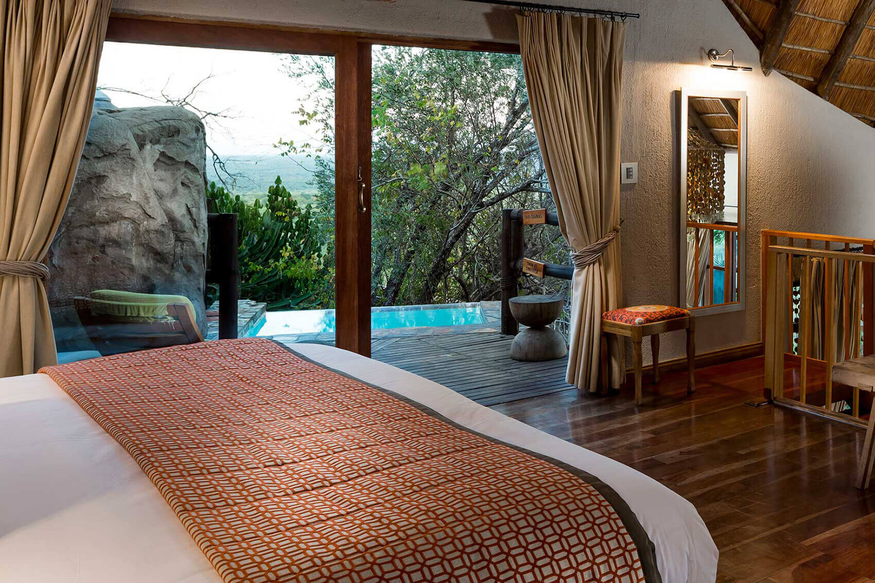 Master Suite with plunge pool