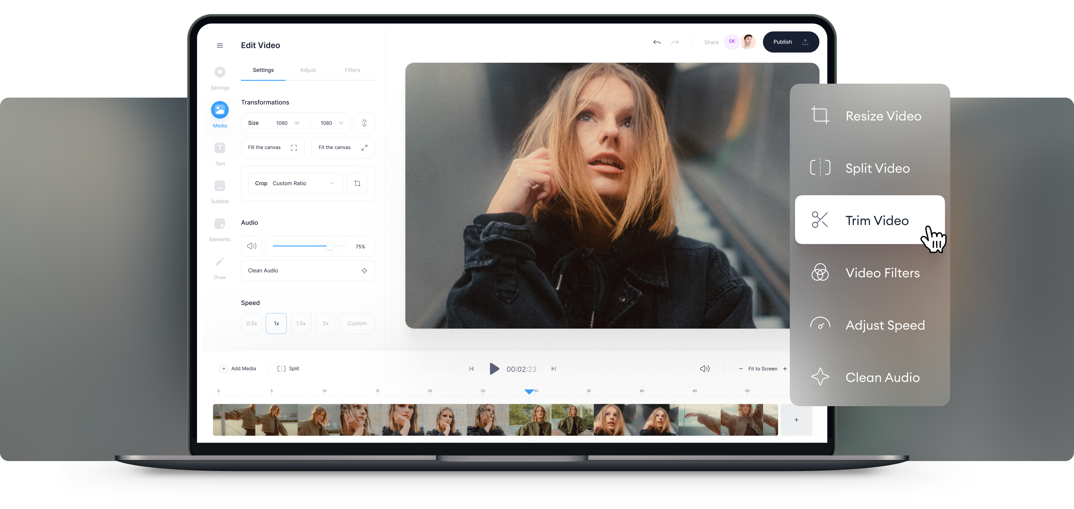 Simple But Powerful Online Movie Maker