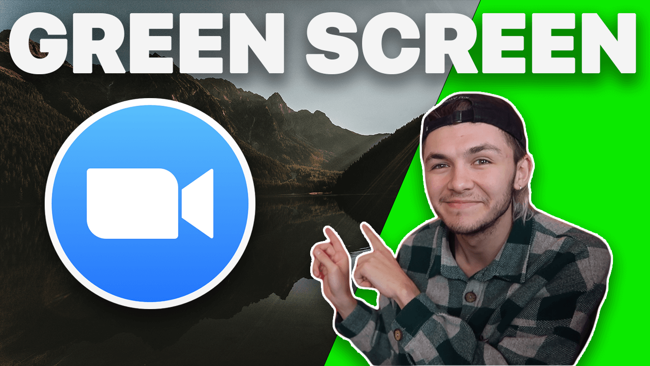 How to Zoom Green Screen