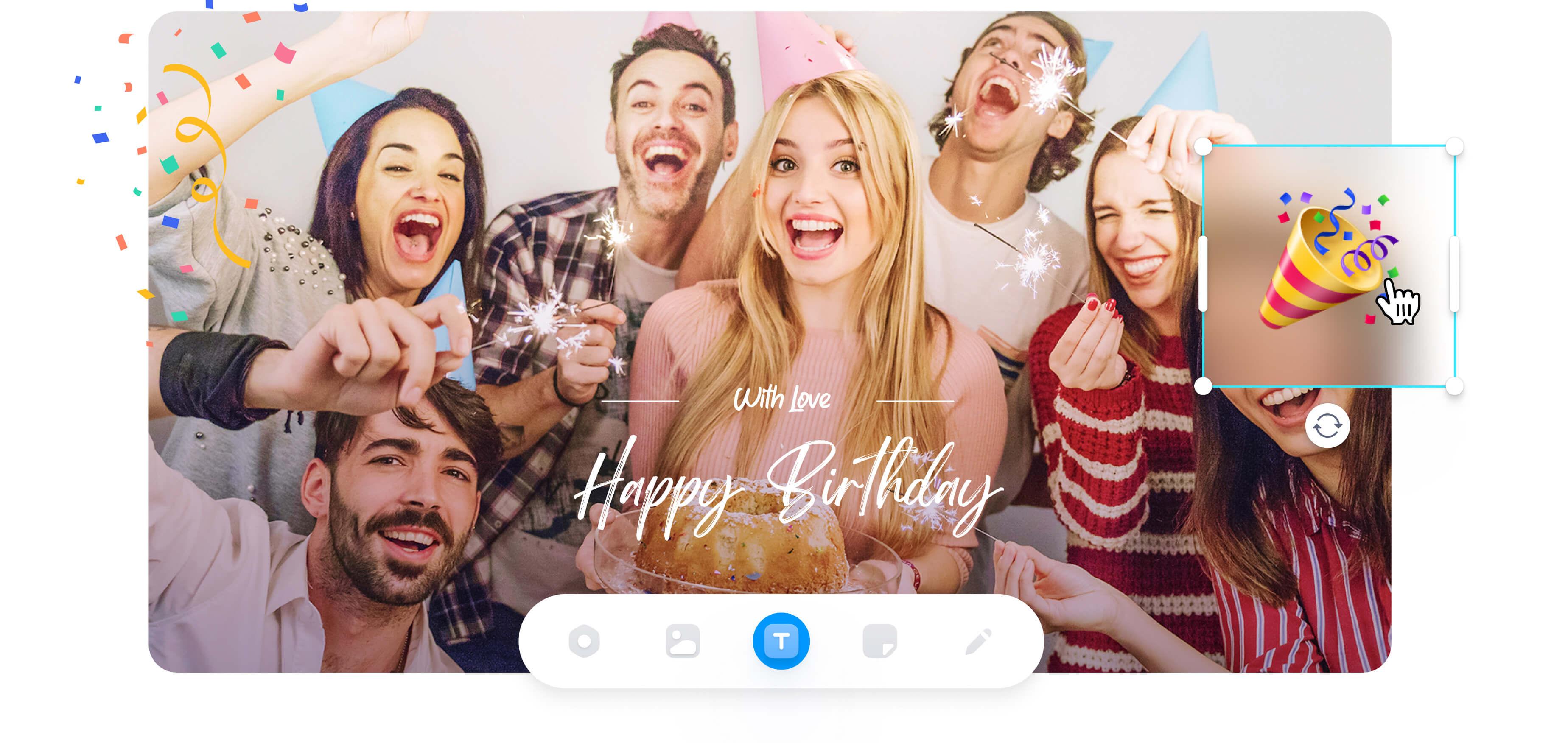 Birthday Wish Video Maker
