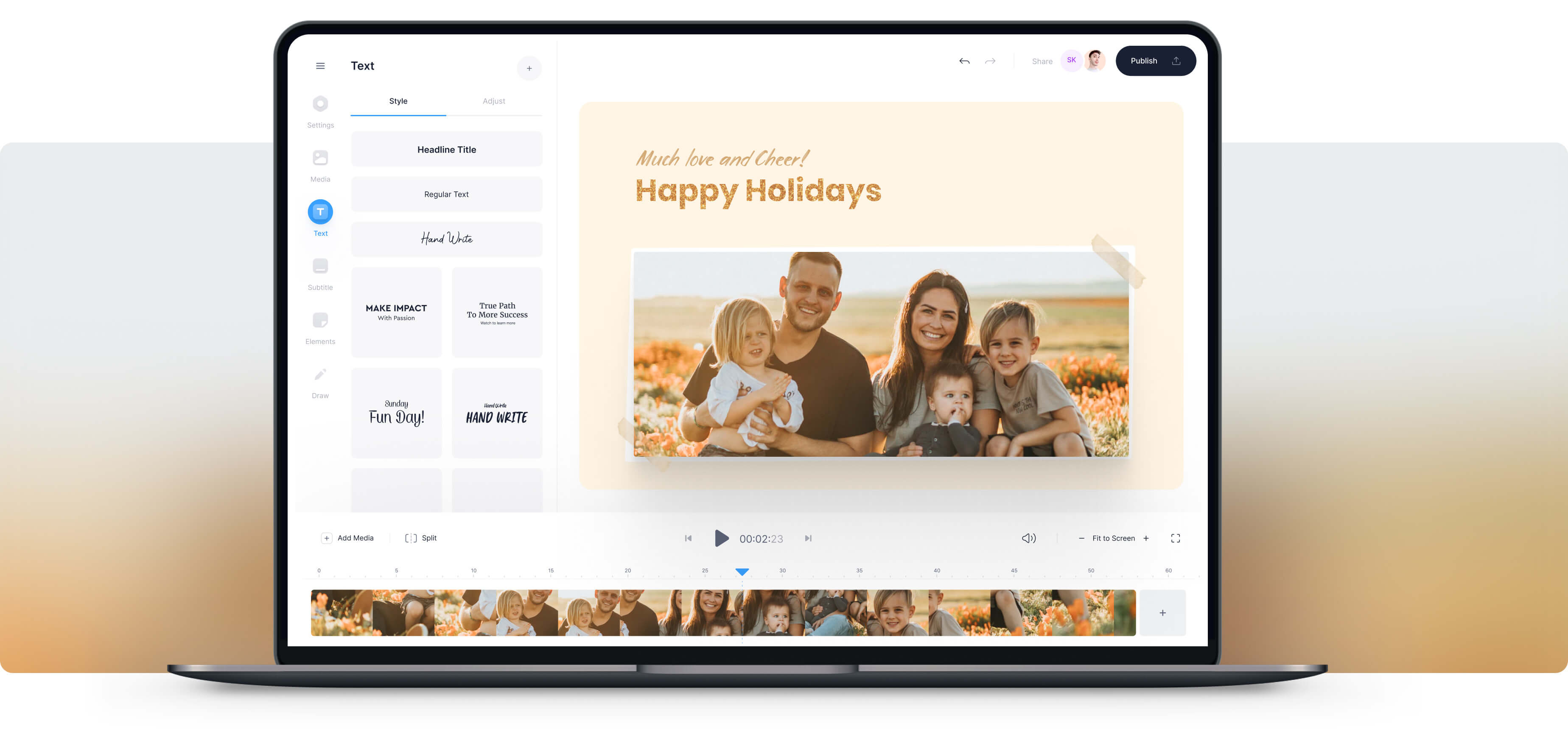 Holiday Video Maker