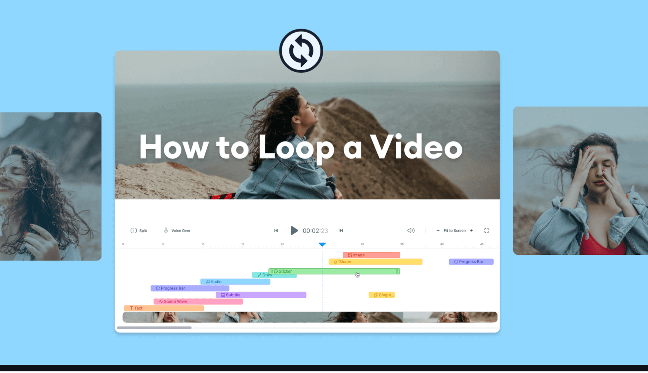 How To Loop a Video For Free (Super Quick And Easy)