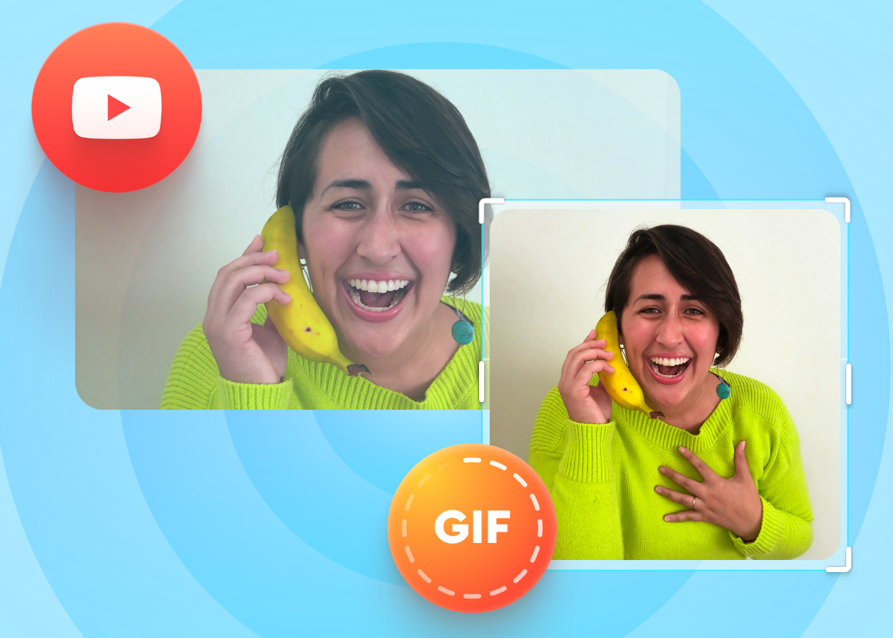 How to Make a YouTube Video to a GIF in Seconds