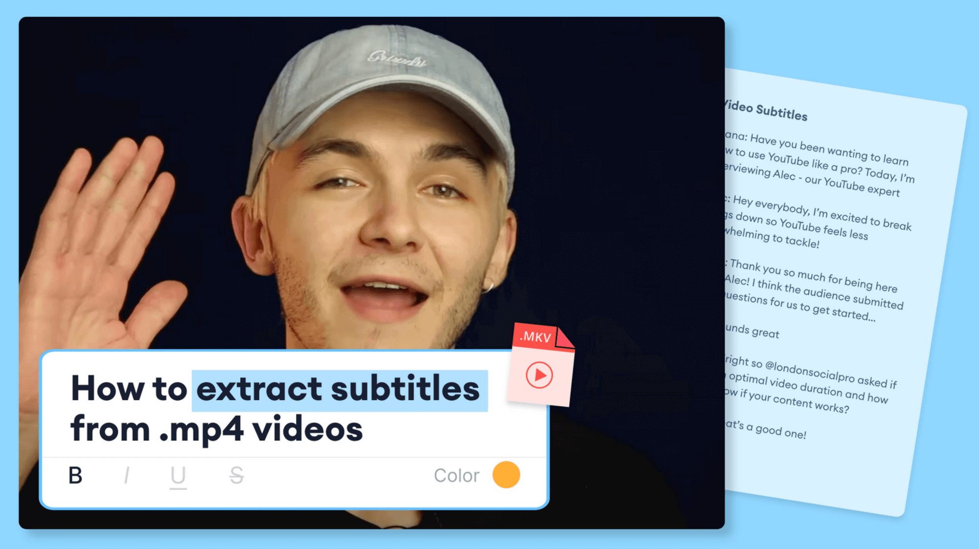 How To Automatically Extract Subtitles From MKV (Super Fast And Easy)