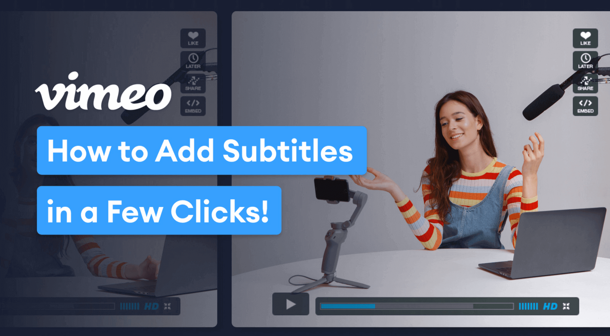 How To Add Vimeo Subtitles And How To Create Them In A Few Clicks