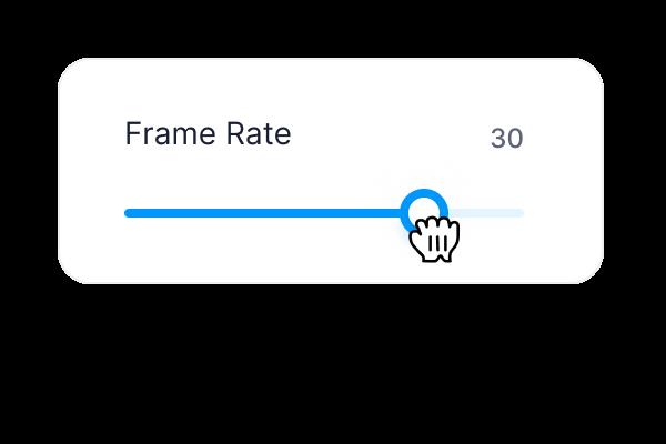 Change Frame Rate
