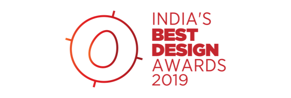 india's best design awards 2019 logo