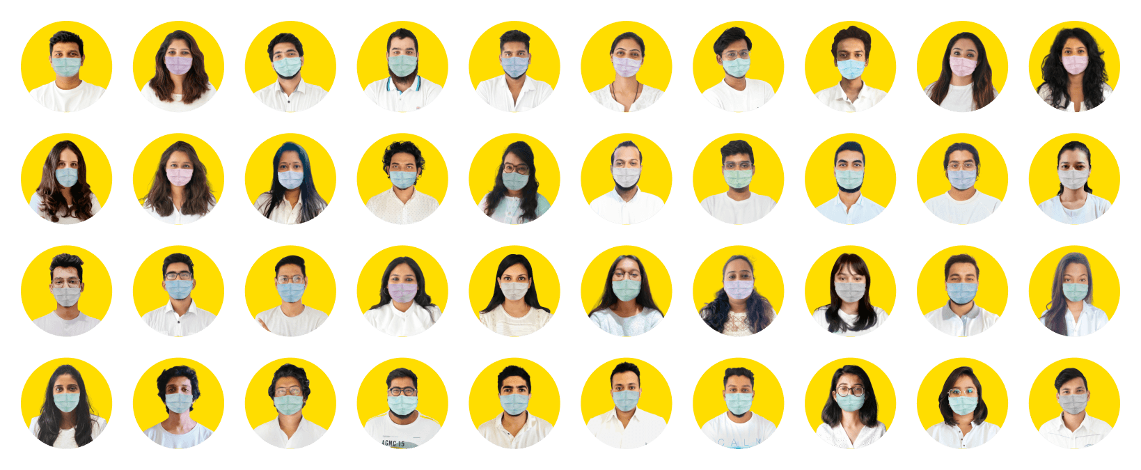 Netbramha Team with Mask