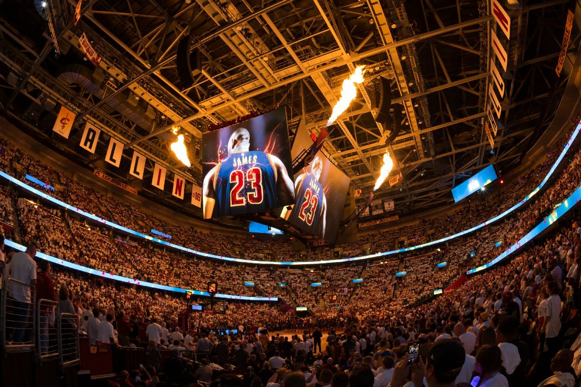Rocket Mortgage Fieldhouse Cleveland Cavaliers