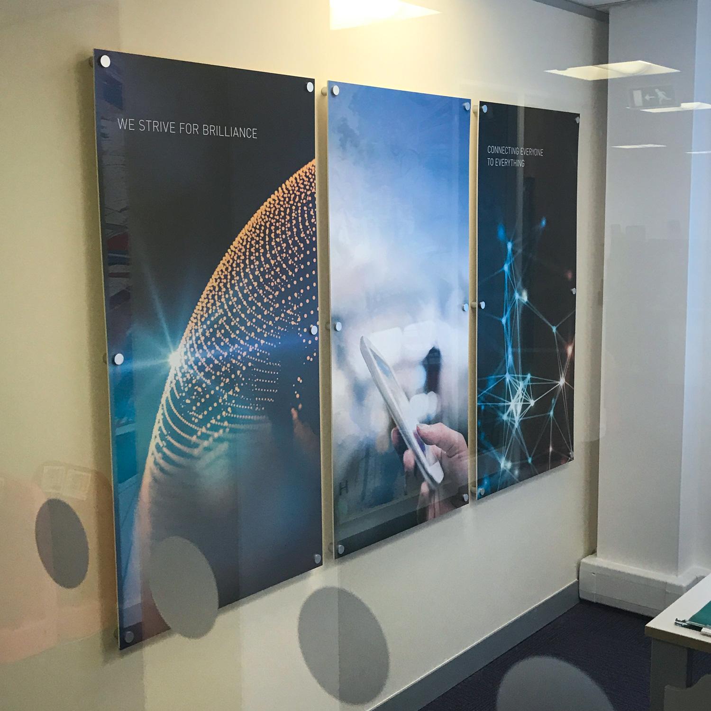 Harman Office Wall Acrylic Panels