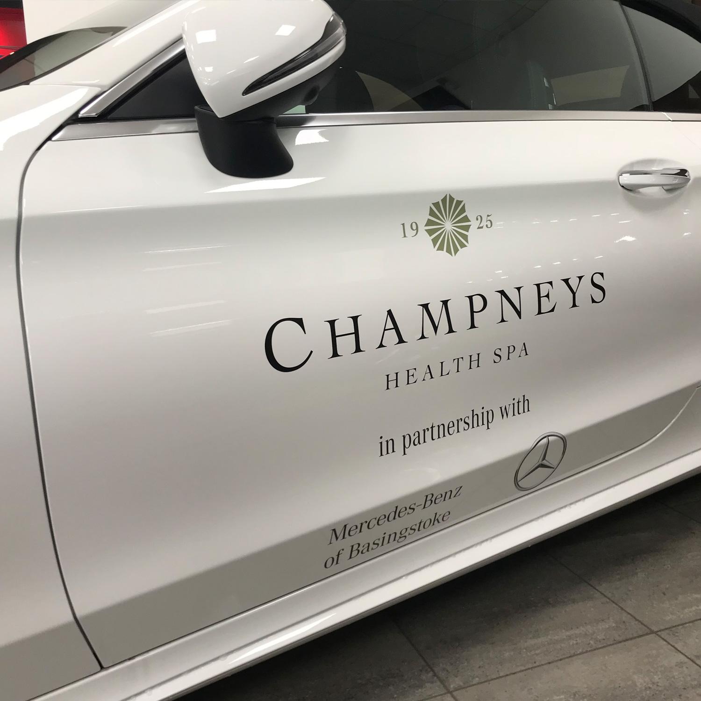 Sandown Mercedes-Benz Vehicle Livery