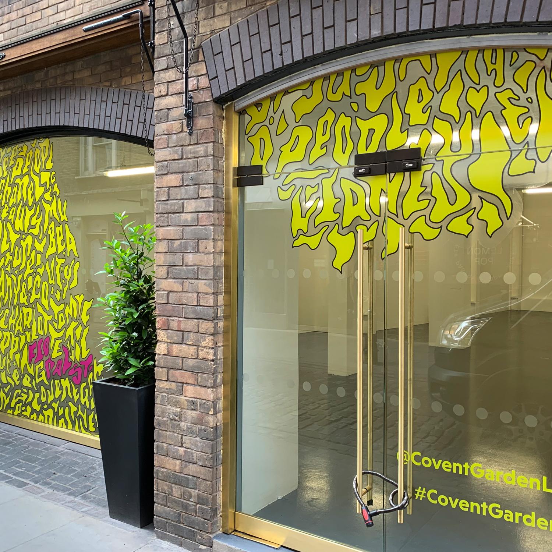 Covent Garden Window Graphics