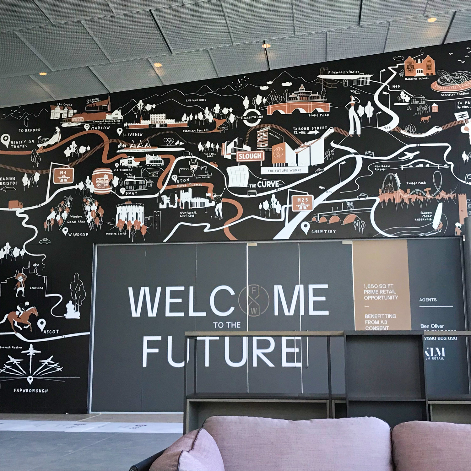 Slough Office Wall Graphics
