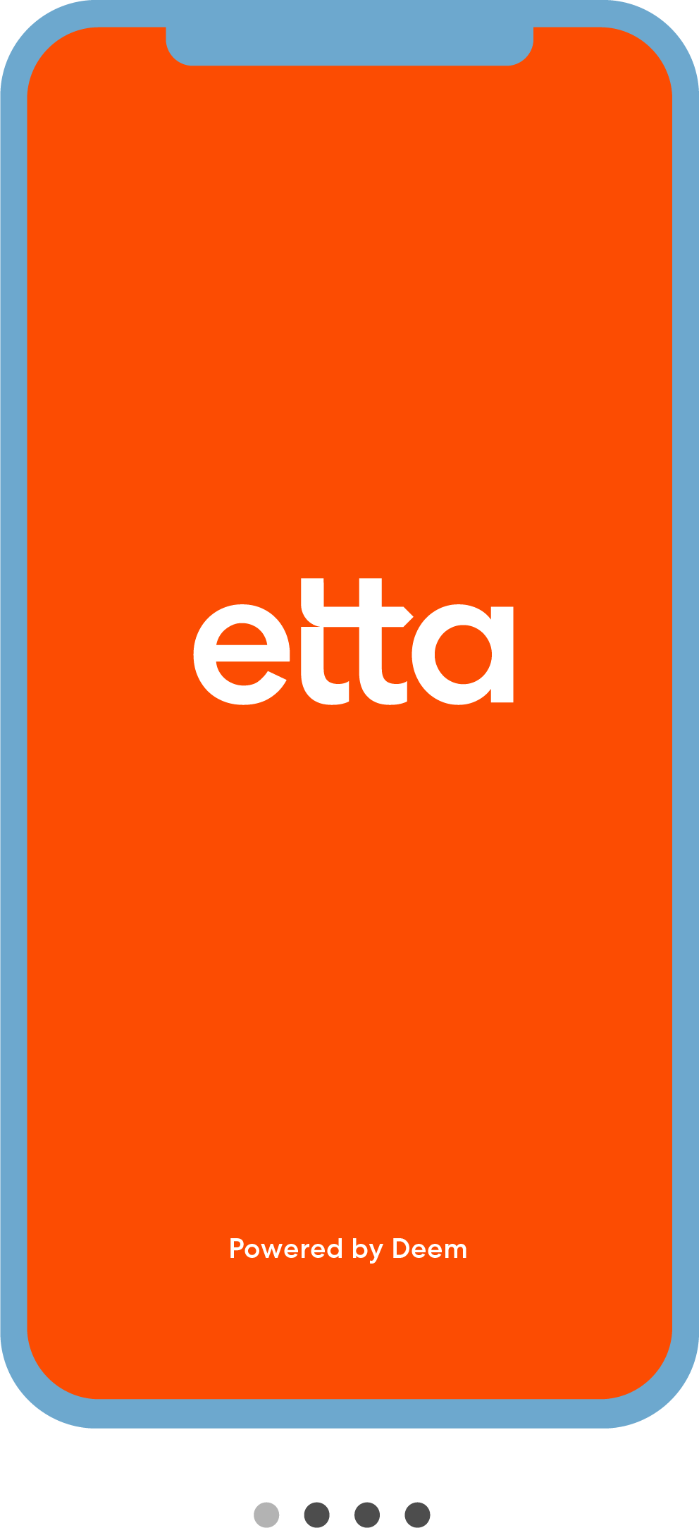 ETTA on mobile phone