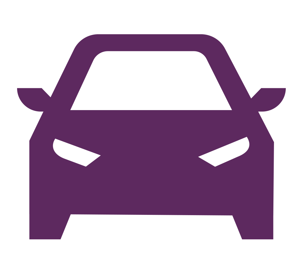 purple car icon