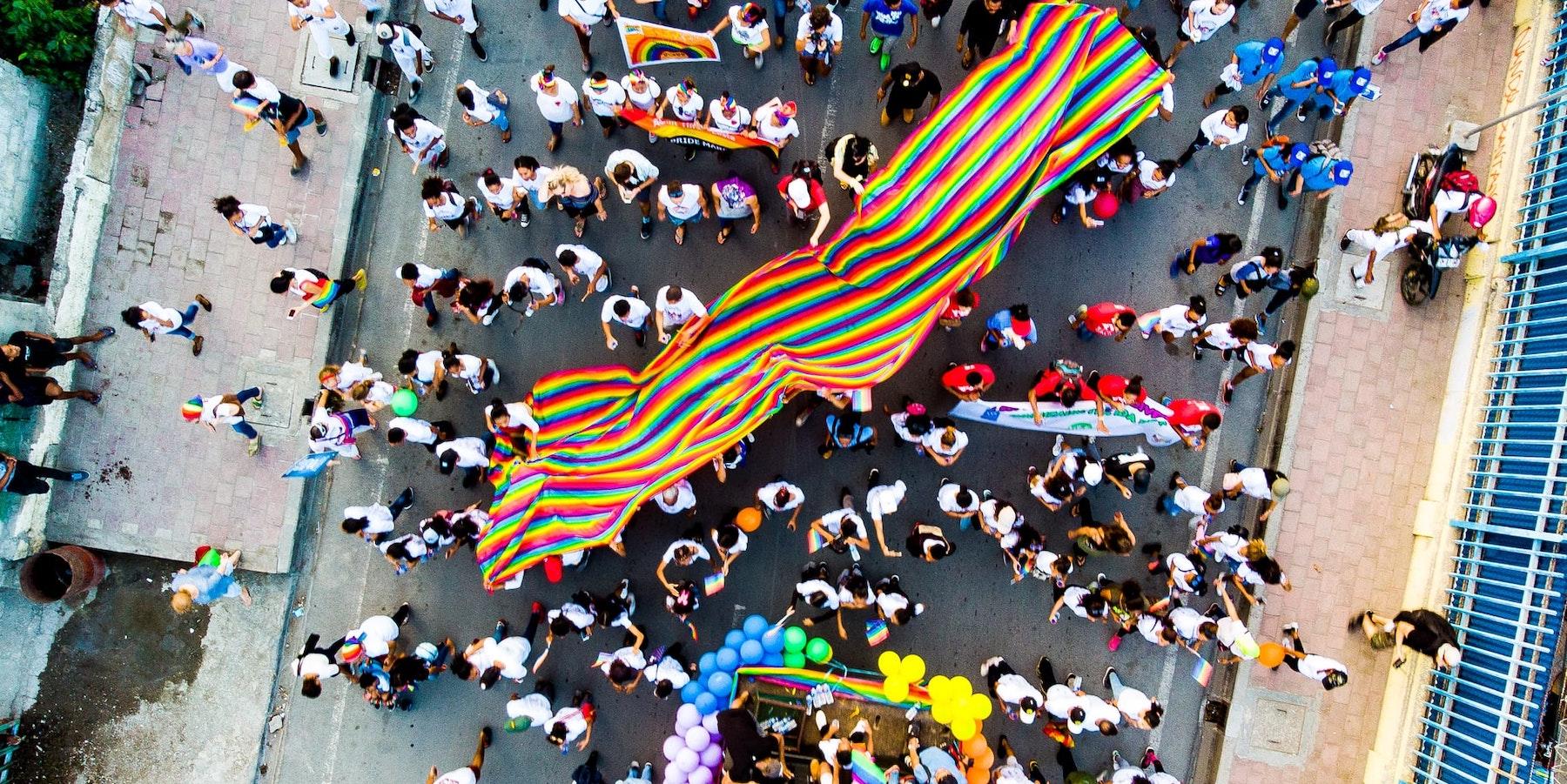 LGBTIQ+ Crowd