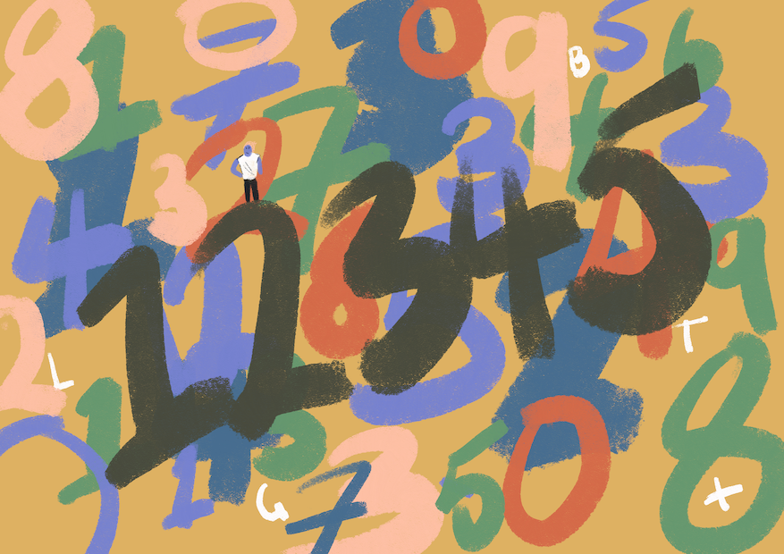 Illustration · Mental health speech bubble