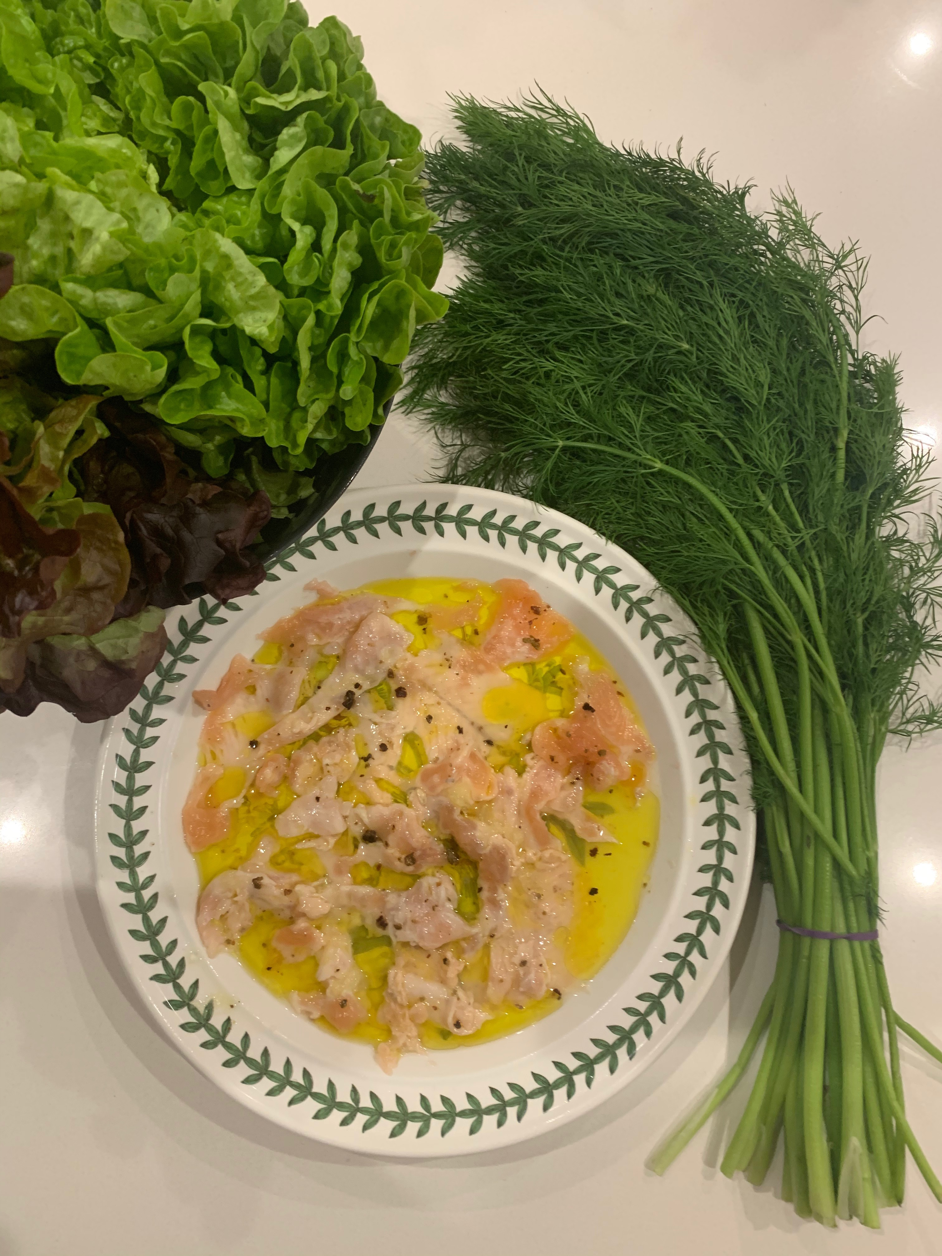 Buxton Marinated Trout Ceviche