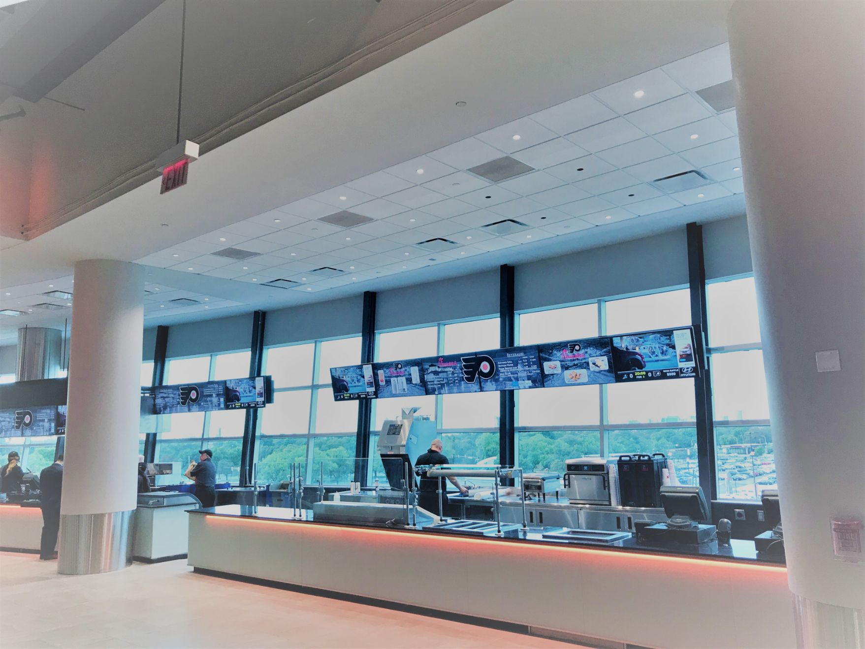Wells Fargo Center IPTV