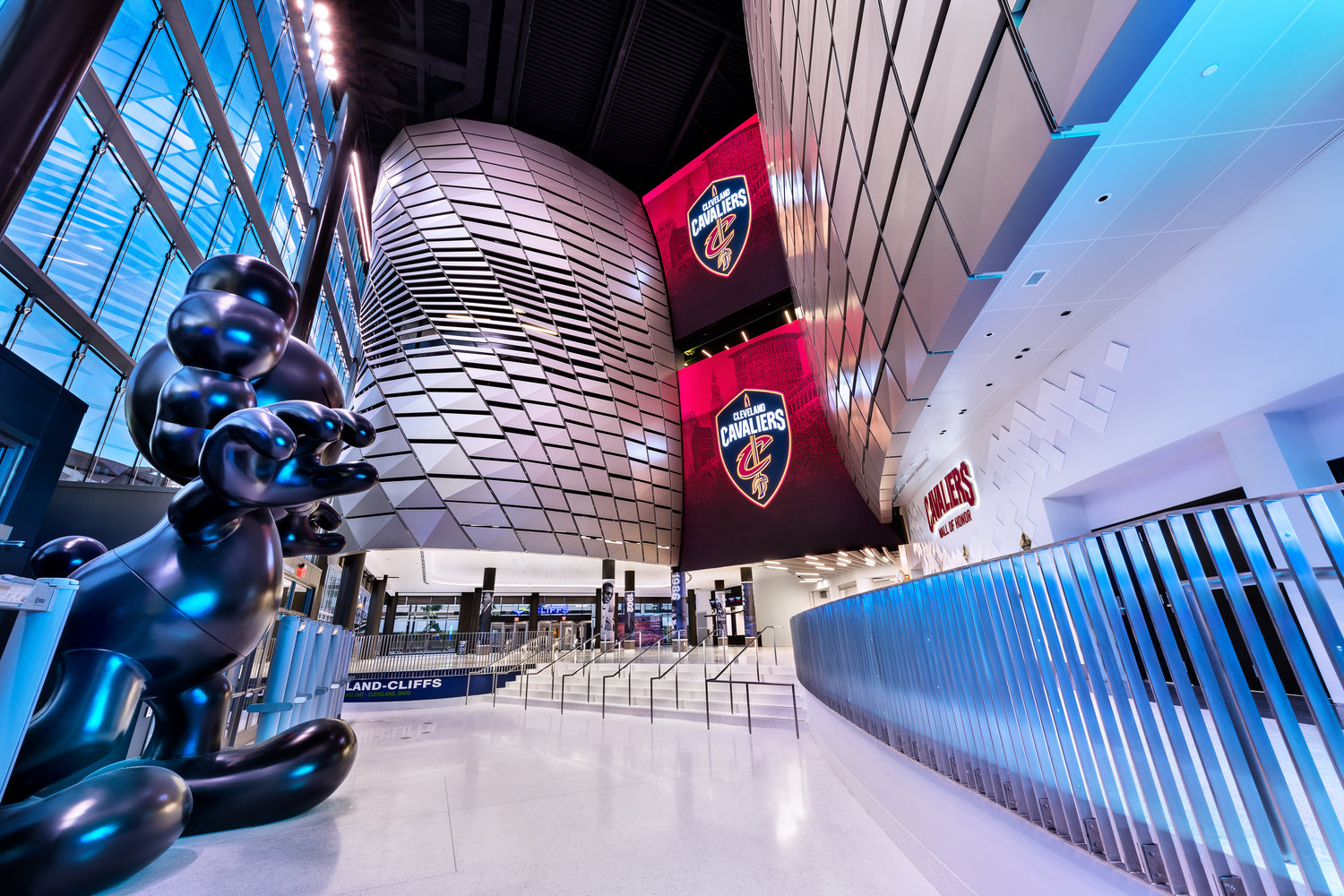 ANC's experience design & technology solutions boost Rocket Mortgage FieldHouse transformation