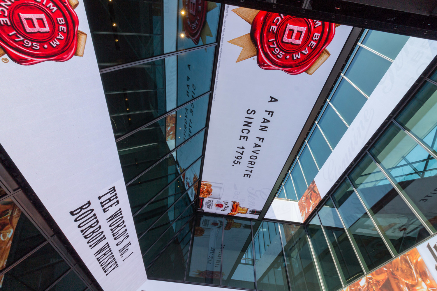 ANC launches new digital media network at the Howard Hughes Corporation's Pier 17 at Seaport District NYC