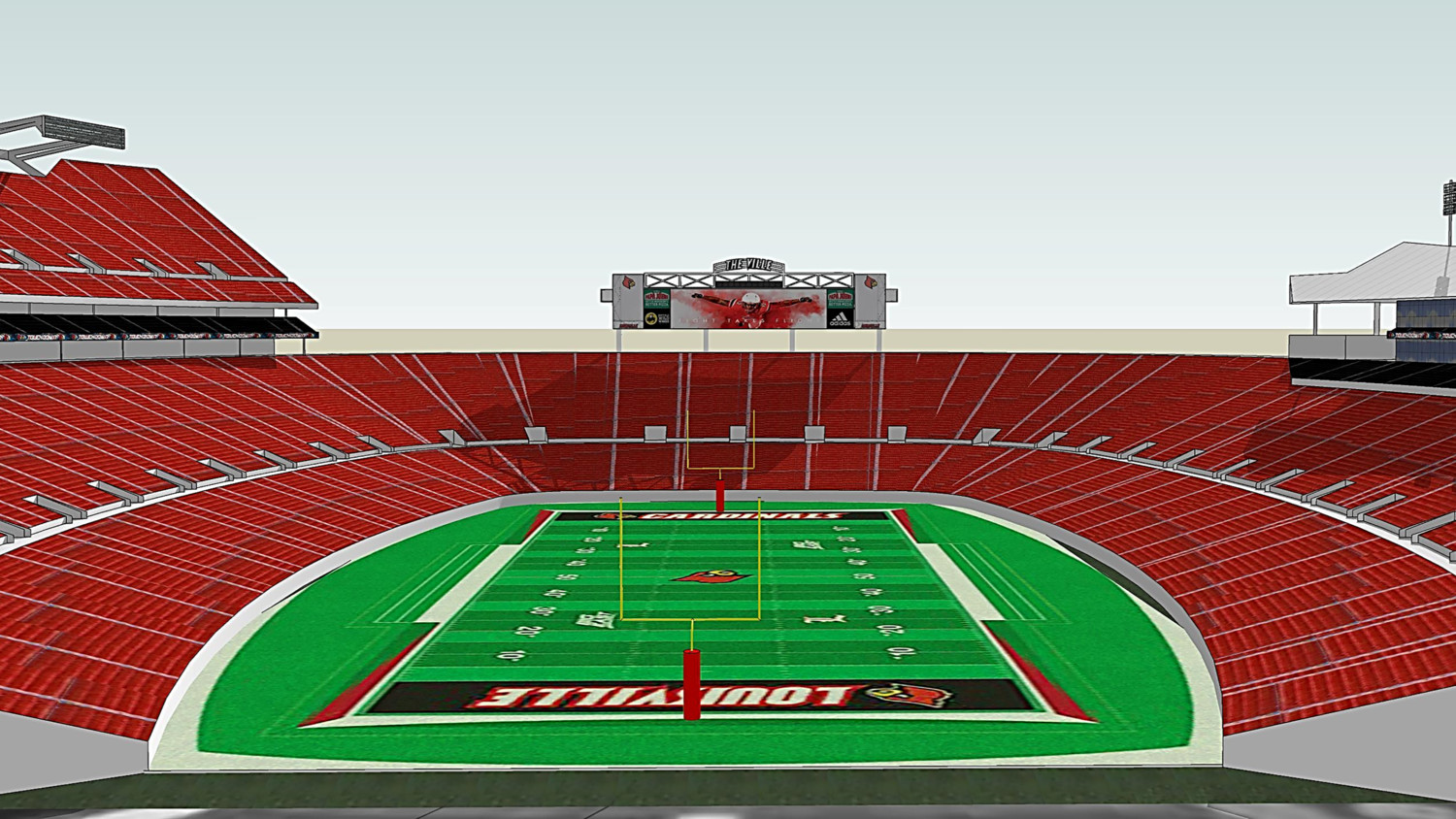 University of Louisville expands partnership with ANC to install new video displays at Papa John's Cardinal Stadium