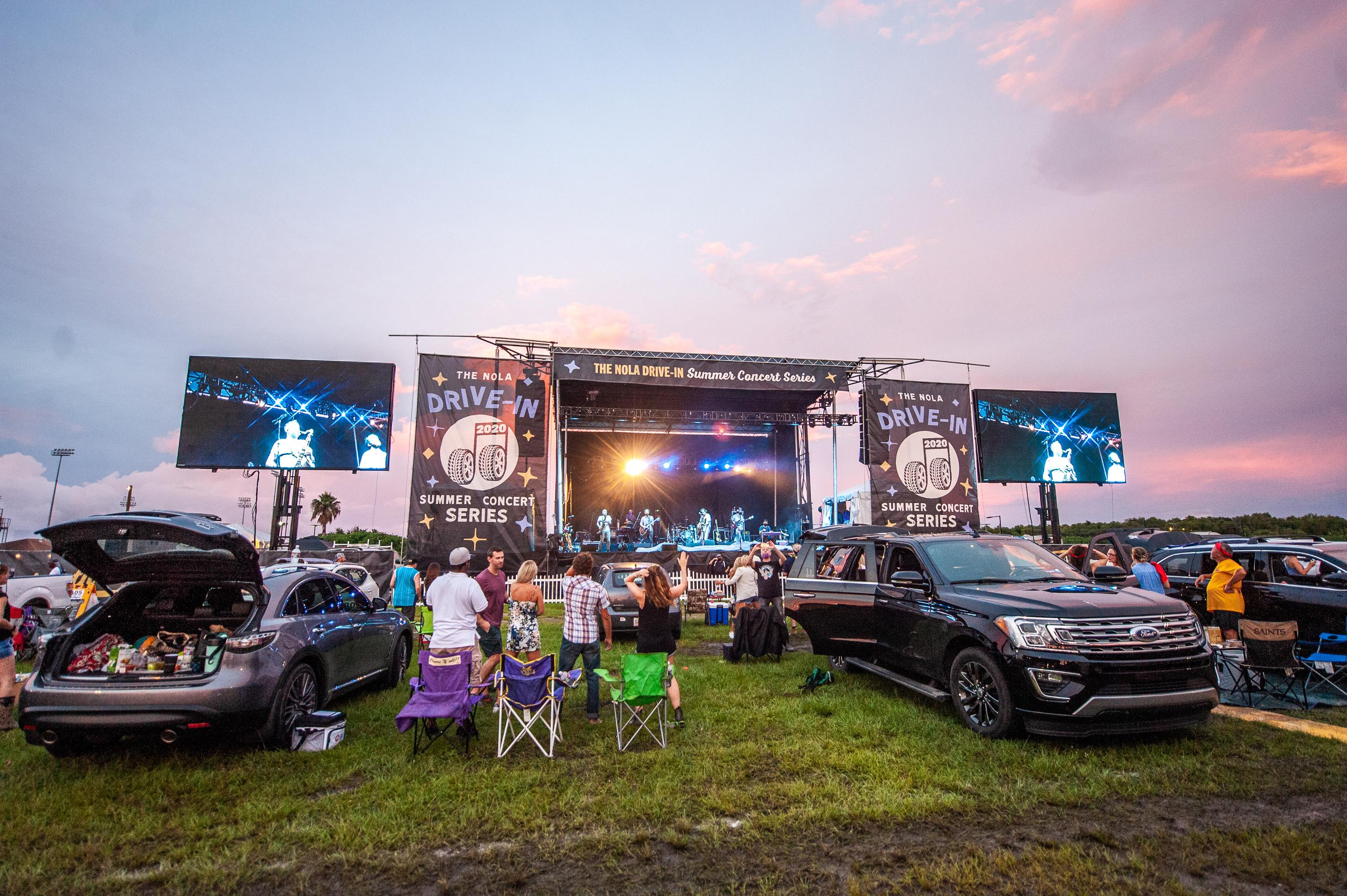 2020 NOLA Drive-In Concert Series | ANC with Live Nation Entertainment