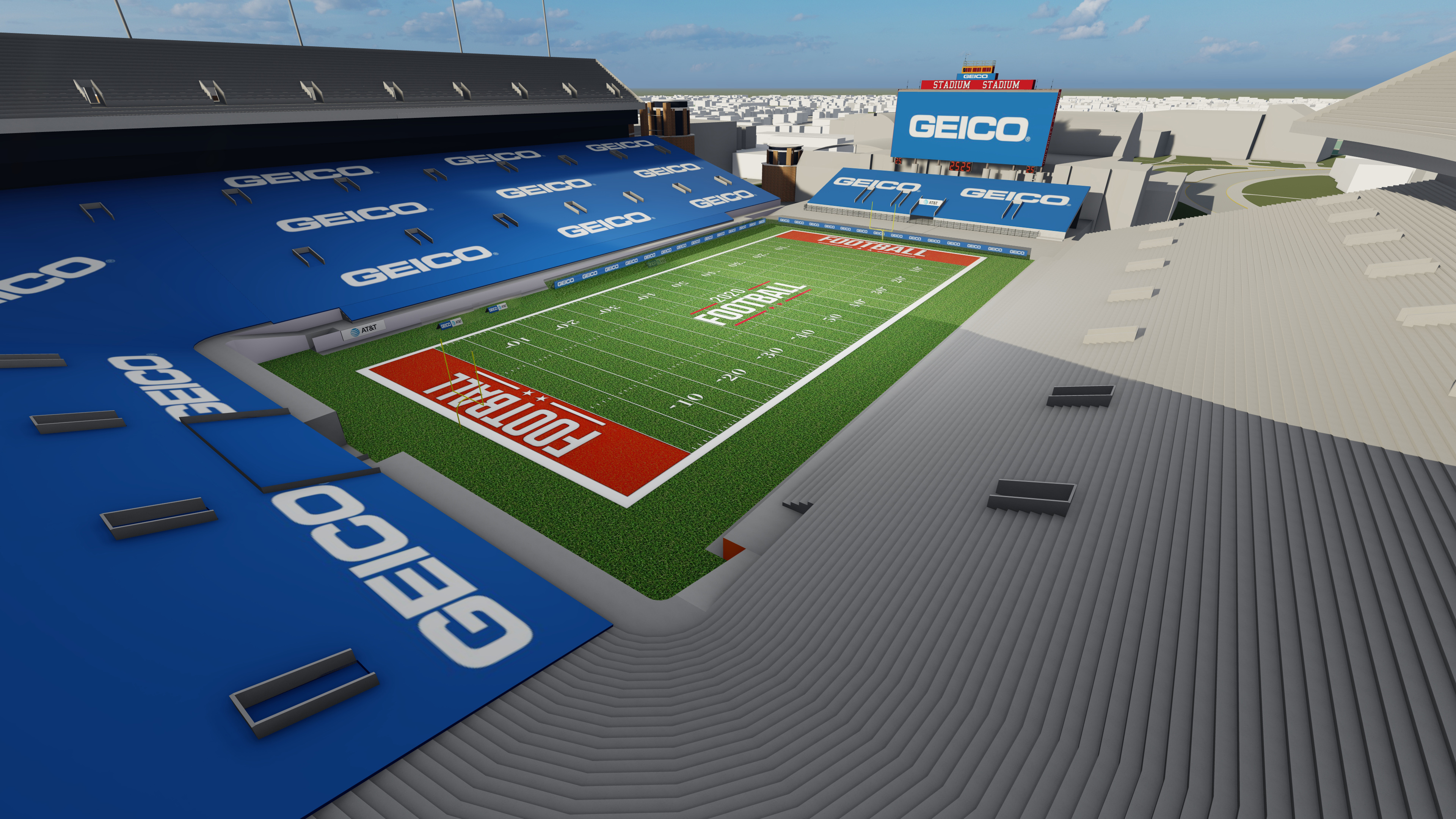 In-Venue Extensions: In-Seat Signage, Perimeter LED, Scoreboards and more