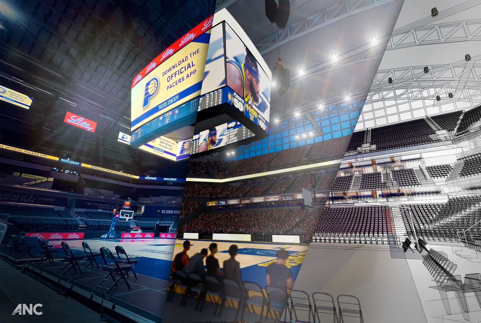 Pacers Sports & Entertainment Unveil Fieldhouse of the Future Phase 1 Renovations