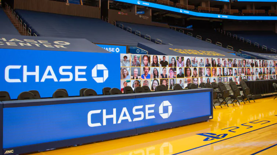 Credit: Chase Center, Golden State Warriors