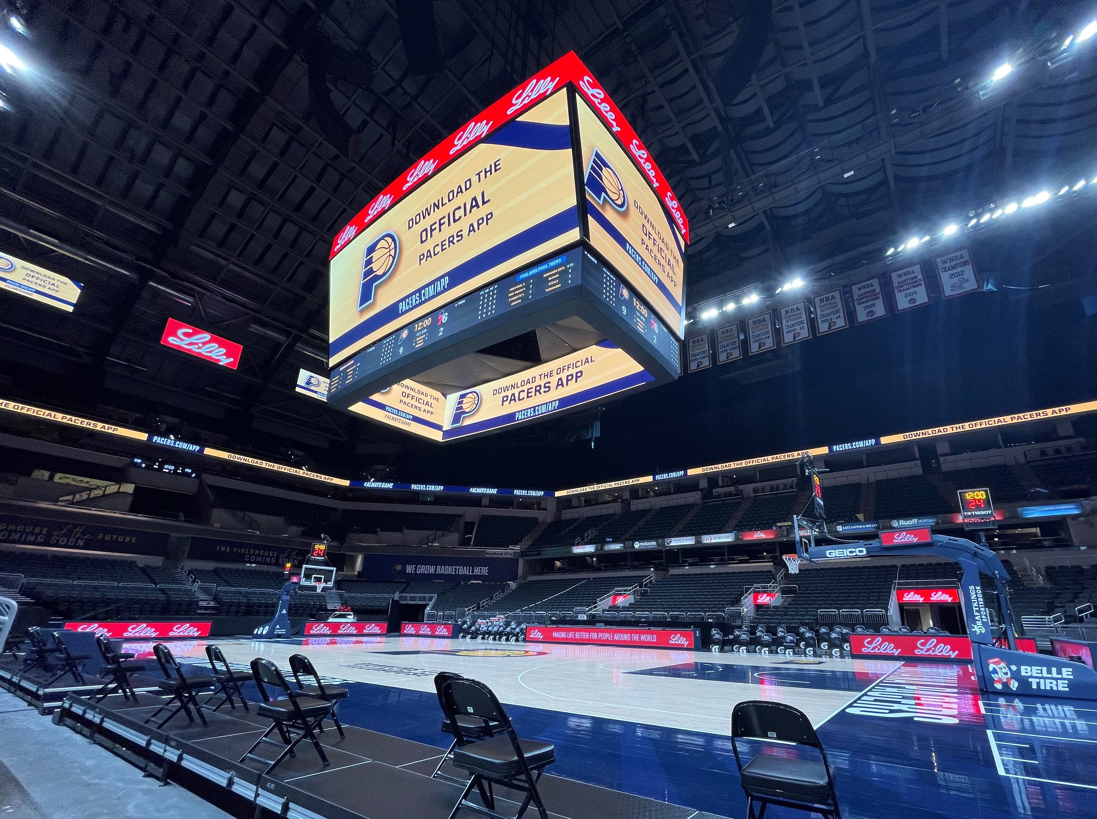 Total Venue Display System - Credit: Pacers Sports & Entertainment